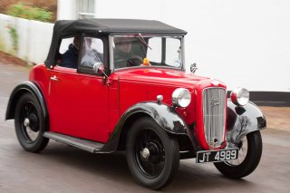 Writtle Green Essex Austin Seven Club New Years Day Run 2015
