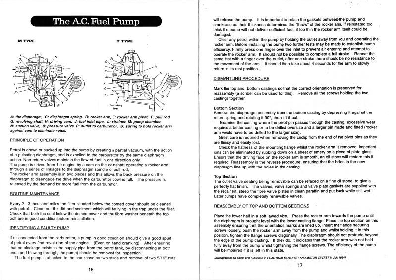 A7 Fuel Pump